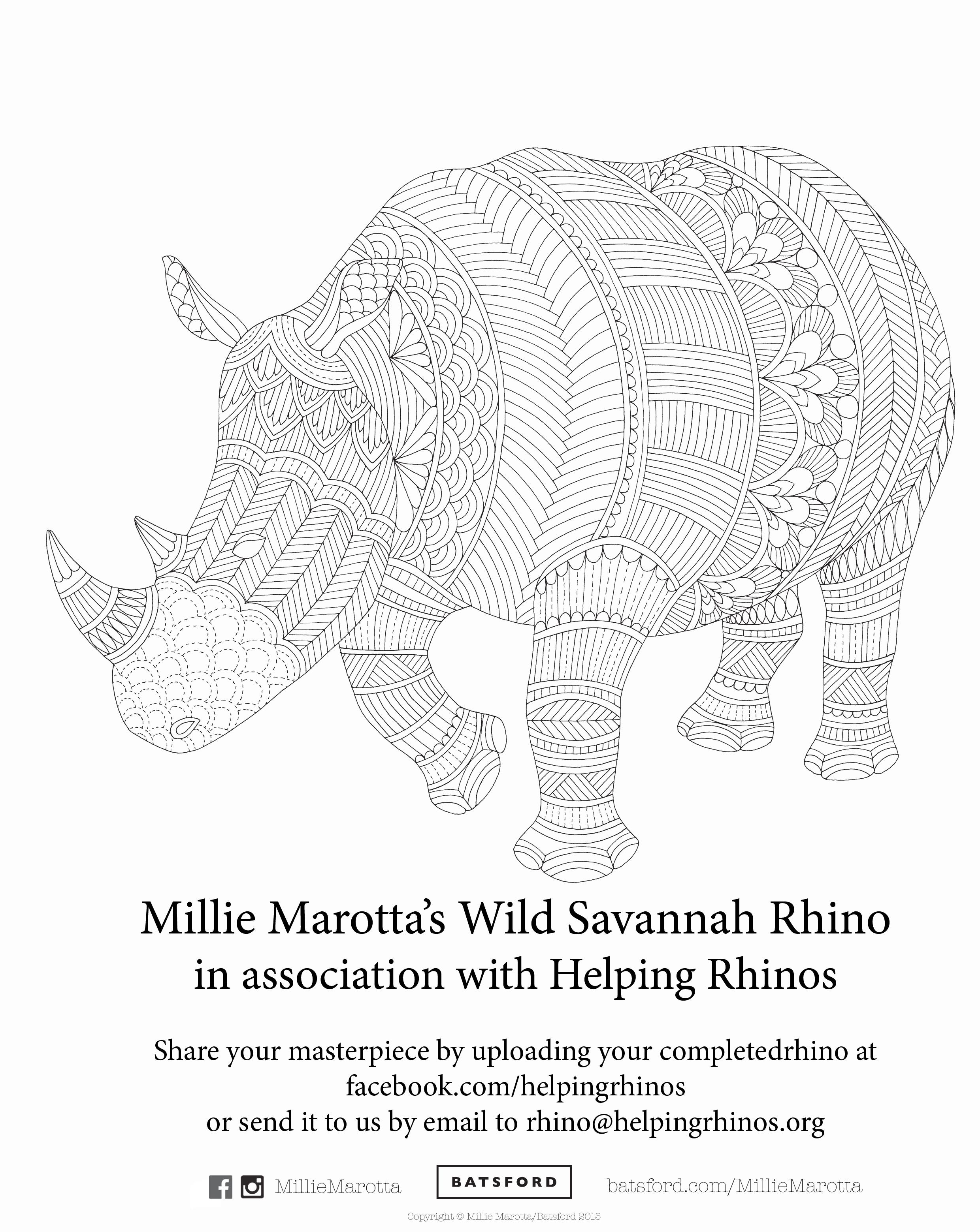 Wild Savannah: A Coloring Book Adventure – Coloring Book Zone | 3120x2480