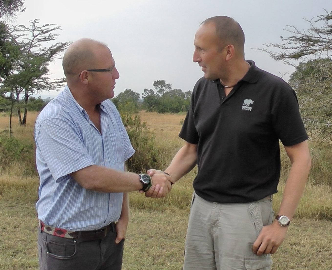 Richard Vigne, CEO of Ol Pejeta
