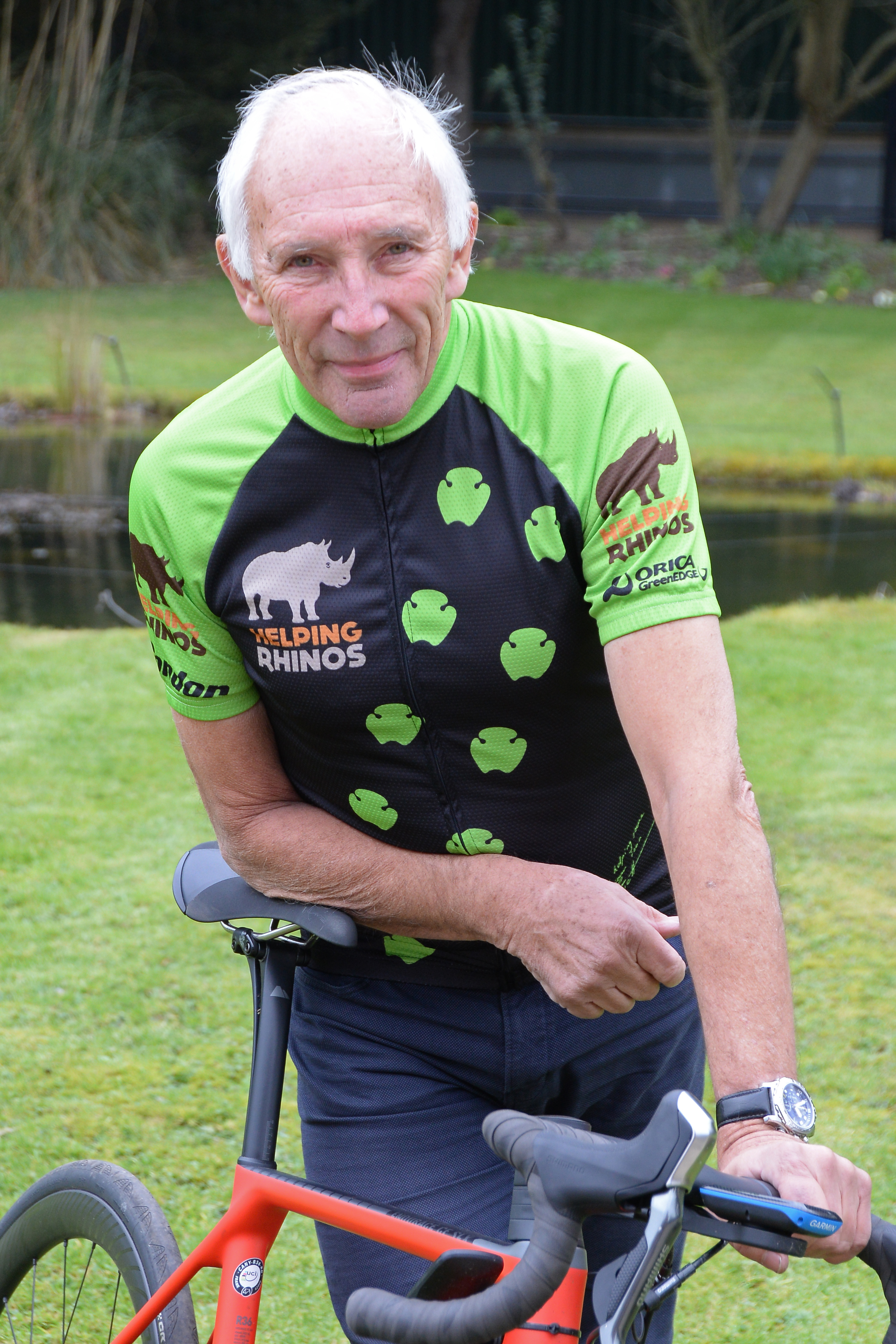 Phil Liggett MBE