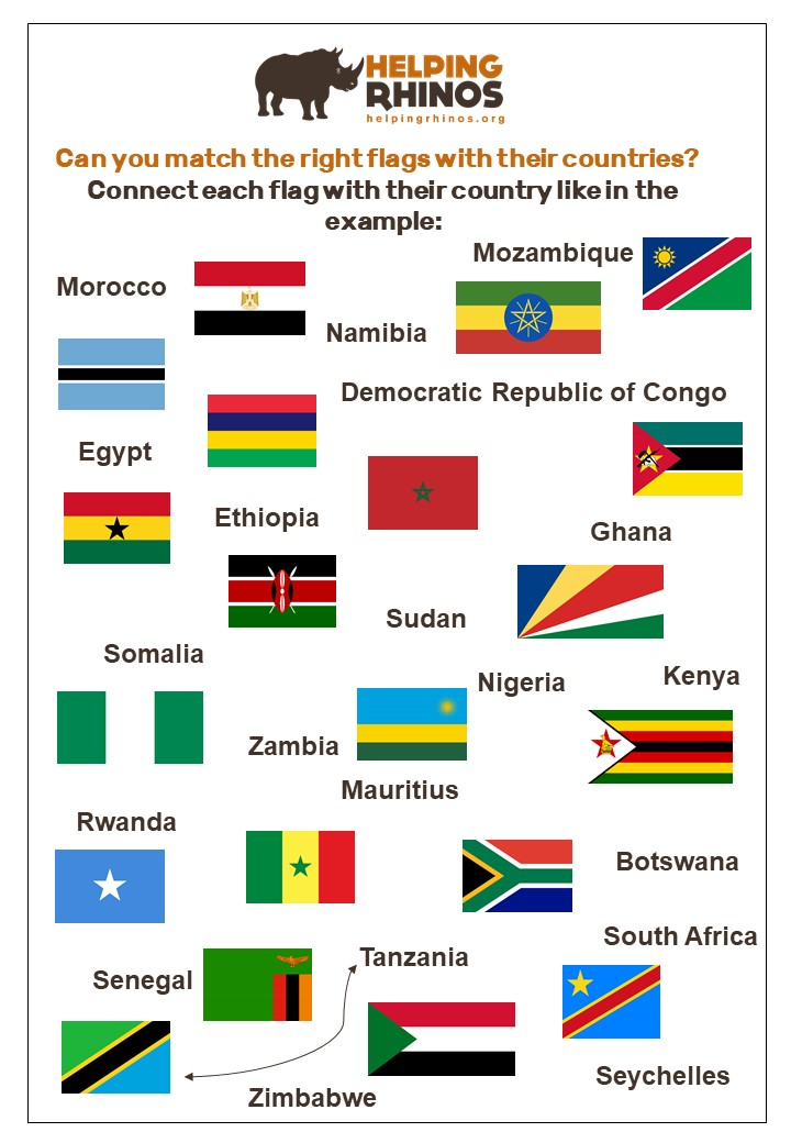 Africa-National-Flags-Game