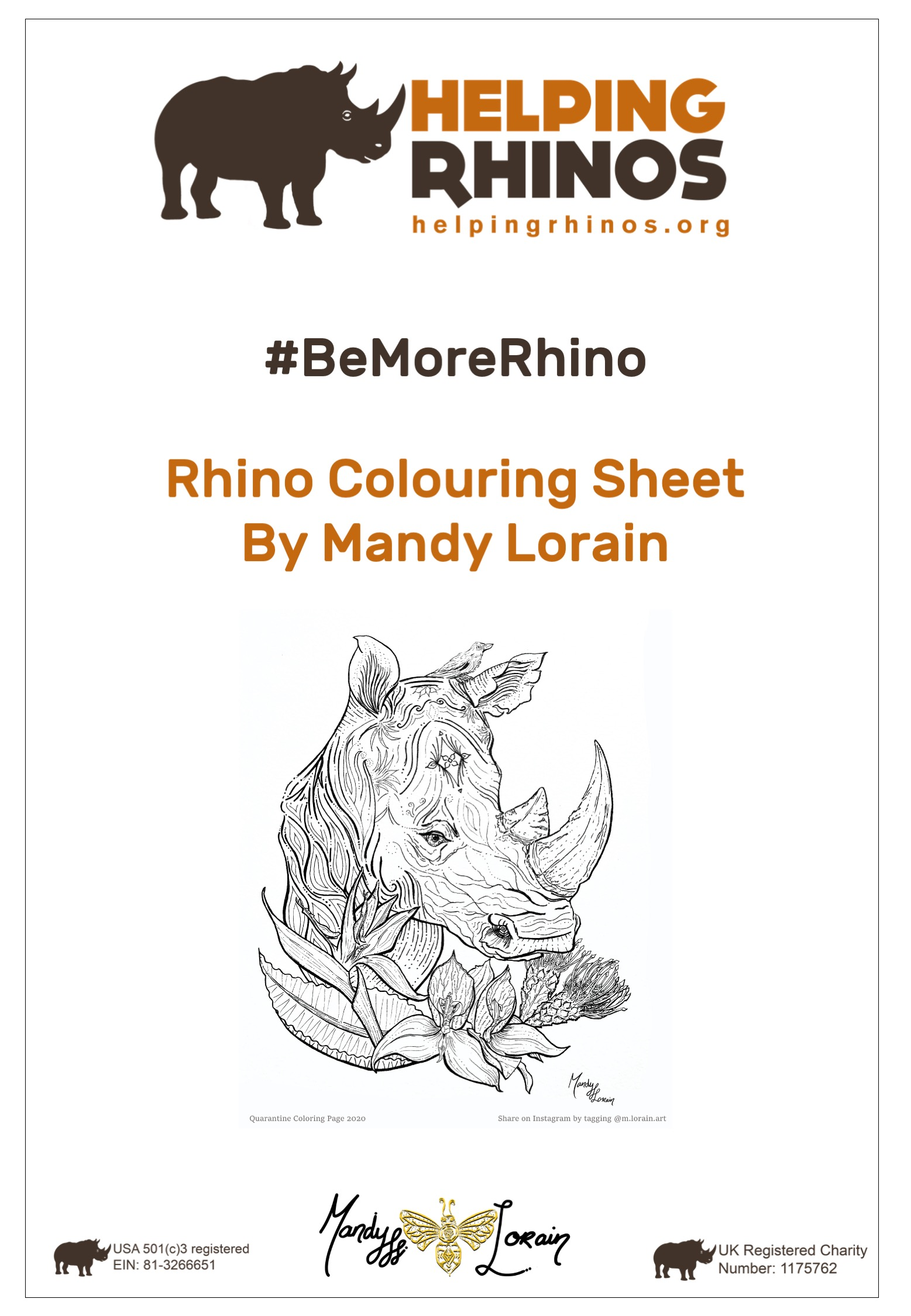 Rhino-Colouring-Sheet