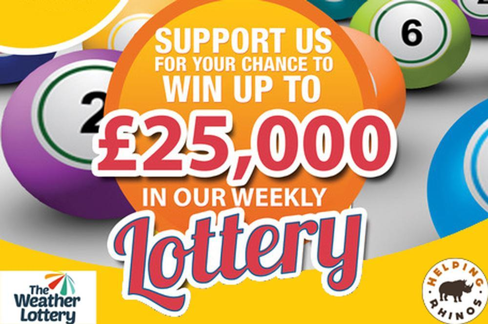 Join the Weather Lottery and win up to £25,000
