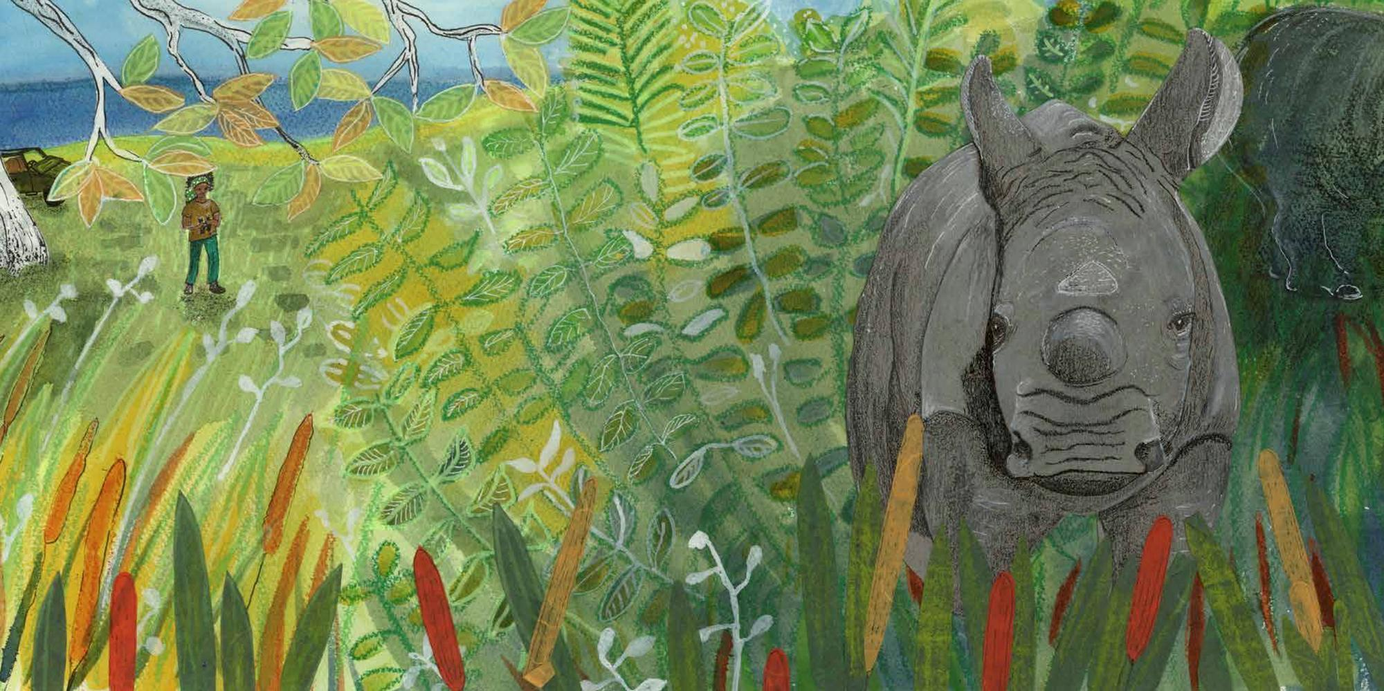 Award Winning Children's Author Helping To Protect The Last Rhinos